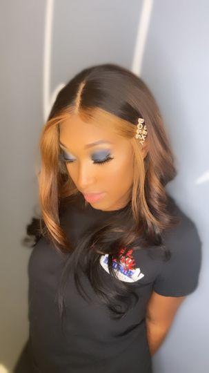 Hair/makeup glam