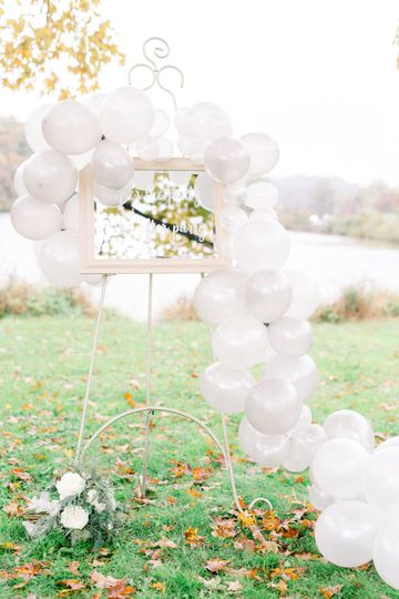 Party Sign + Decor
