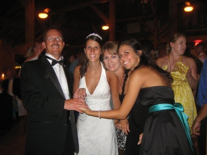 four of us at weddin