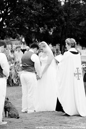 erin and brent wedding prayer