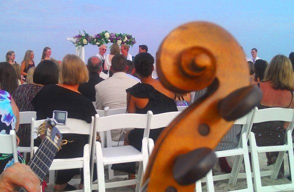 Tmx 1337178296537 BeachCeremonyViolinAcousticGuitar Cape May Court House, New Jersey wedding ceremonymusic