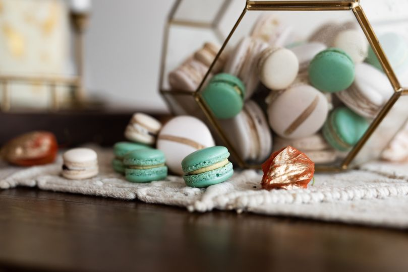 Handcrafted macarons