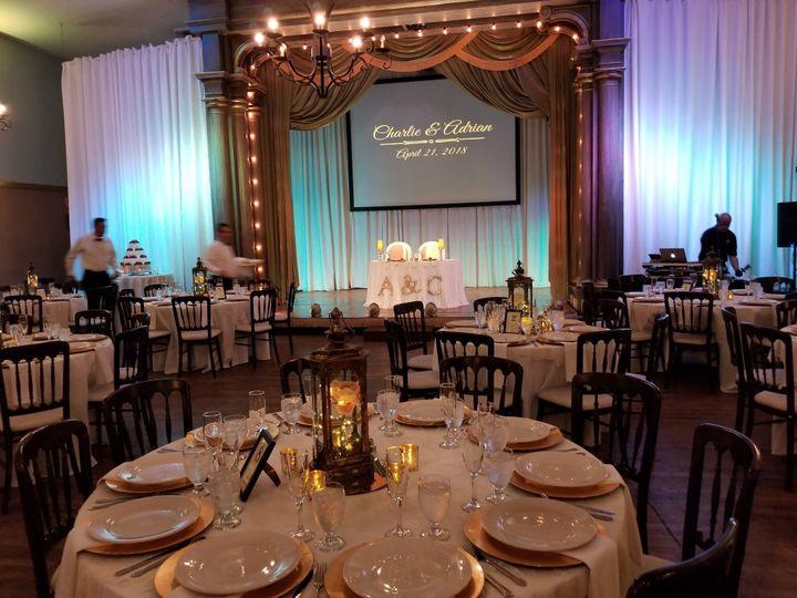 Ready for an elegant reception