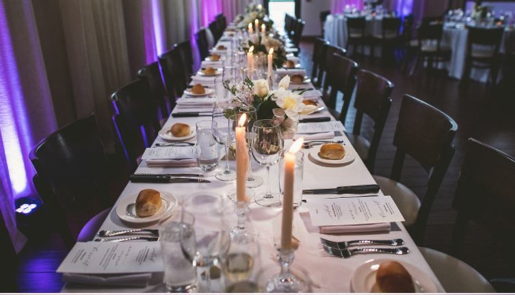 Long table Photo by Douglas Polle