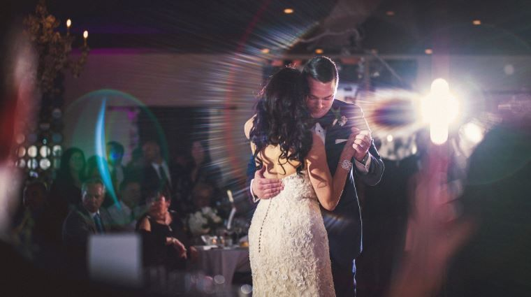 First dance Photo by Douglas Polle
