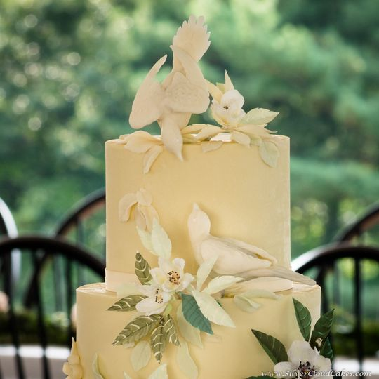 Silver Cloud Cakes - Wedding Cake - Manchester, MA - WeddingWire