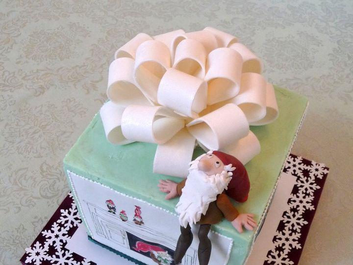 Tmx 1357917404241 TomtenOnCake Manchester, Massachusetts wedding cake