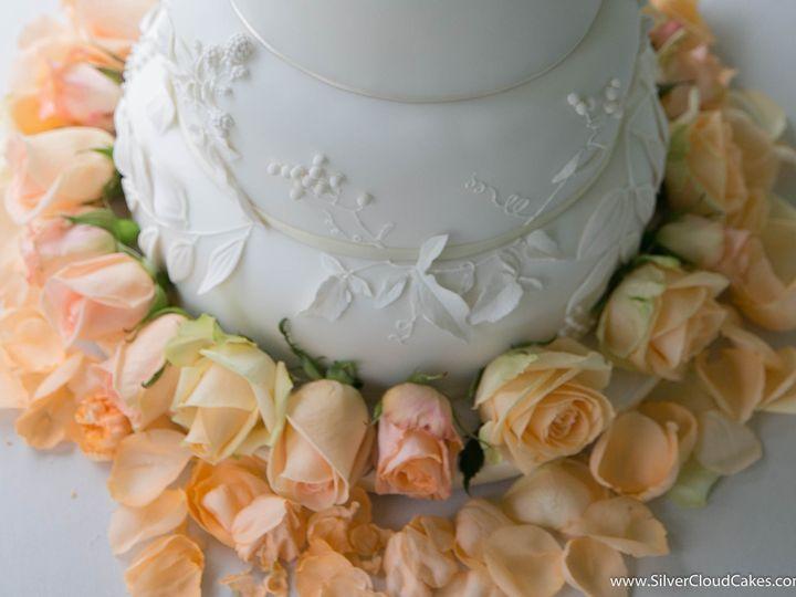 Tmx 1449434336902 White On White Applique Straightened Thumbnail 2 2 Manchester, Massachusetts wedding cake