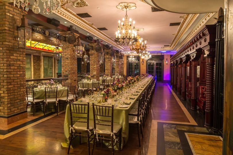 Cruz building wedding reception
