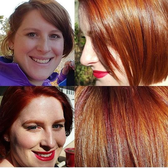 Natural red to red hot