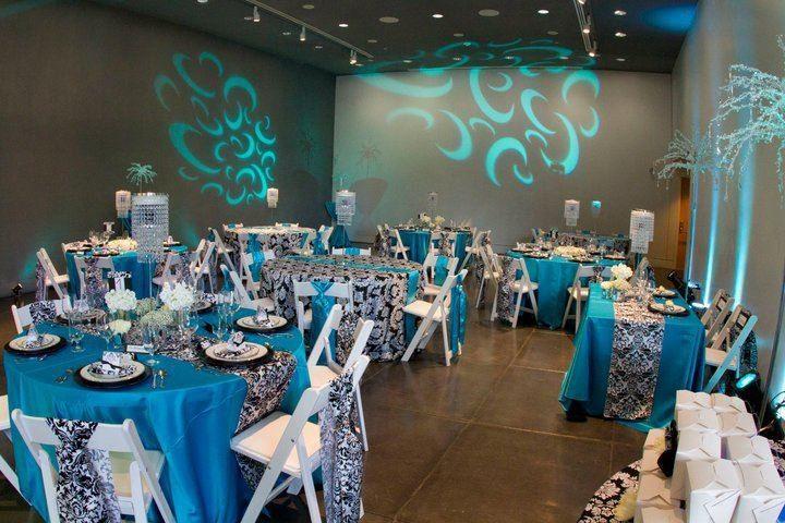 A blue theme