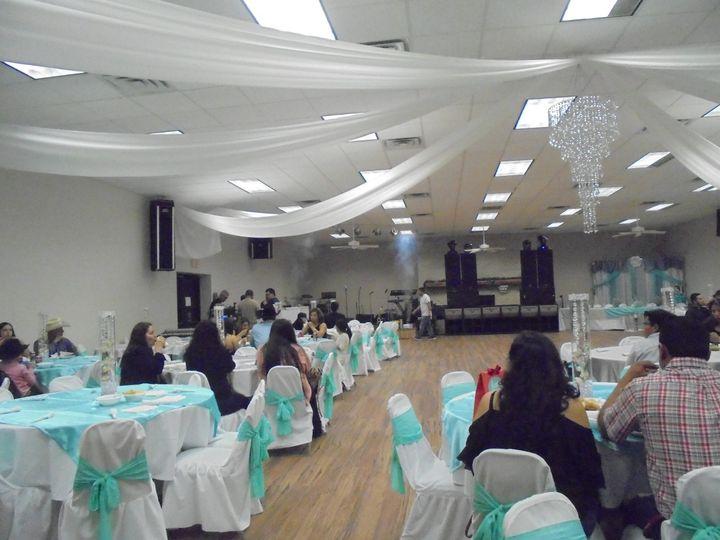 Wedding venue interior