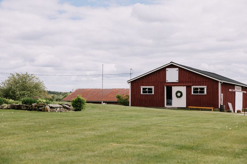 Barn and grounds
