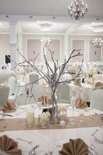 Tree centerpiece