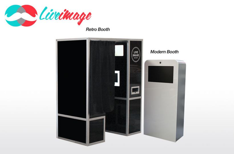 Liveimage Mordern or Retro Photo Booth