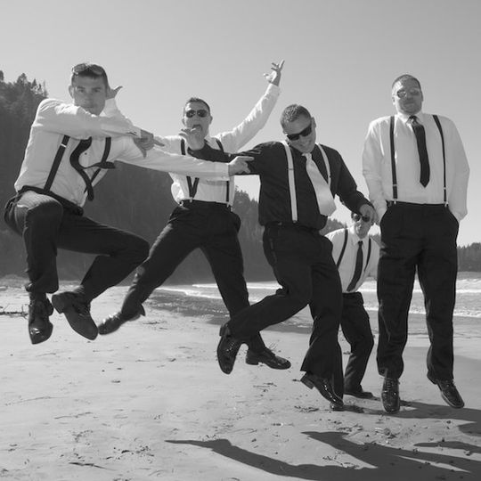 The guys having some fun