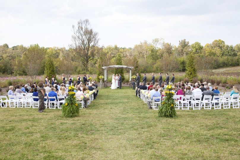 Fisher/Holland wedding at The Arbors