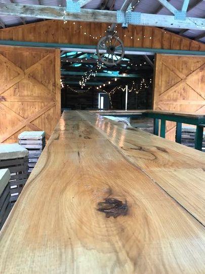 Bar at Sleepy Hollow Barn