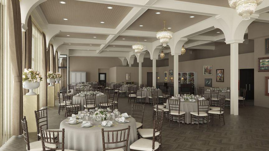 The George Ballroom Rendering