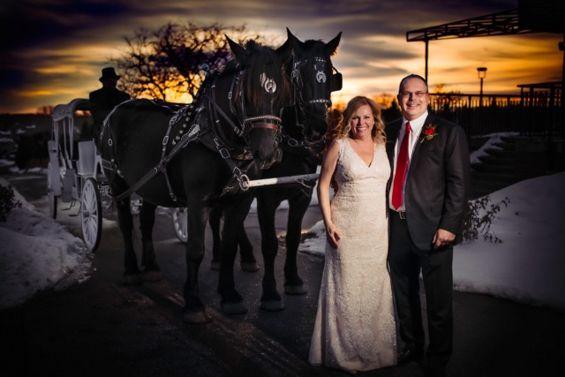 Tmx 2019 Wedding Couple And Carriage 51 1060185 157979627980428 Saint Francis, MN wedding transportation