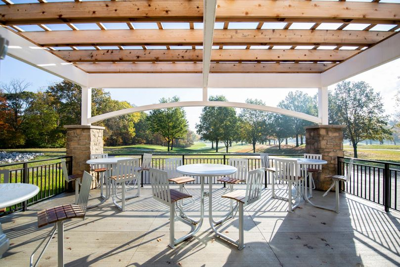Patio attached to Grill Room