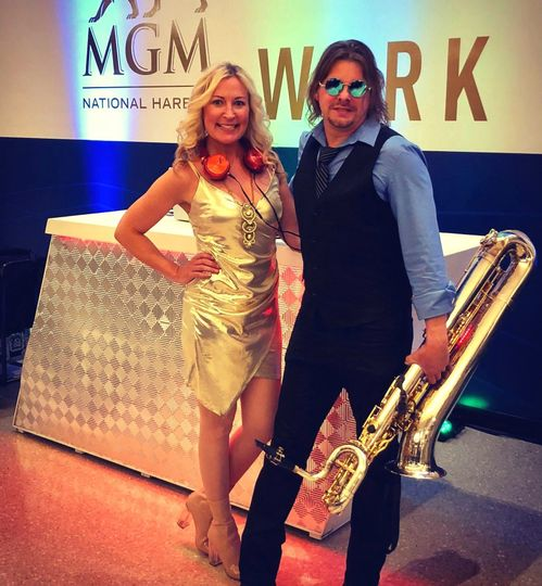 With DJ Shelley, MGM Grand