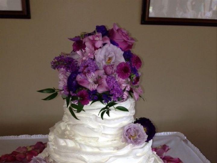 Tmx 1379524241520 Ruffle Cake Saline, Michigan wedding cake