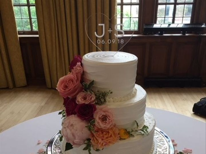 Tmx 1536816133 5fd3ca1c5f436602 1536816133 0b0de437a6ebd9a1 1536816132990 2 IMG 1352 Saline, Michigan wedding cake