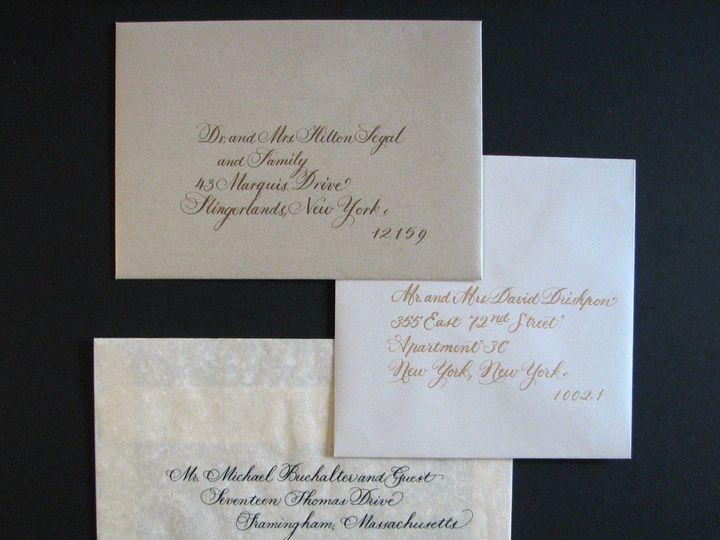 Tmx 1357182050460 Envelopesamples1 Slingerlands wedding invitation