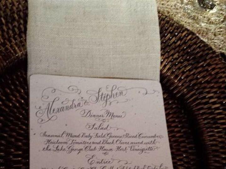 Tmx 1473960184876 Moser Menu Slingerlands wedding invitation