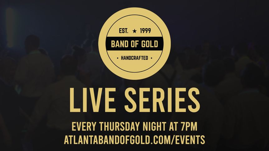 New shows every Thursdays @7pm