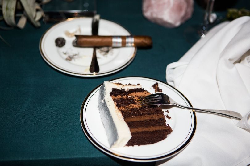 Cake & Cigar   Image © THE GOLD COLLECTIVE