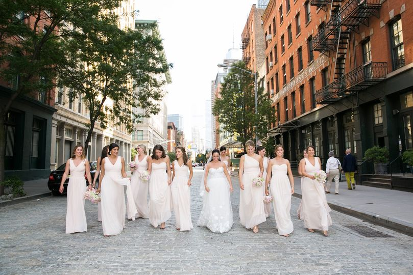 Tribeca Wedding Photography | Tribeca Bridesmaids | Photography by Berit Bizjak of Images by Berit |...