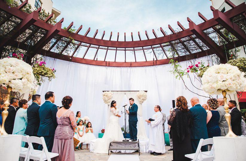 Kimberlie & Eric's St Patrick's Day Wedding at NOOR. Photo Credit Abraham Alejandro