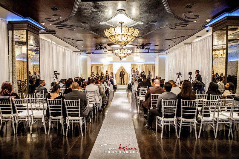 Jasmine & Ryan's Sofia Ballroom Wedding. Photo Credit: LA Digital Studios
