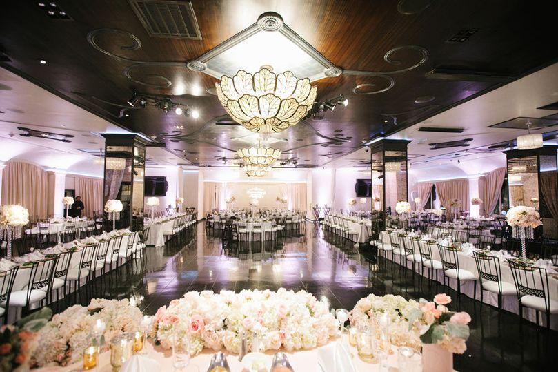 Lawrencia & Kenny's Wedding Reception Setup at NOOR | Sofia Ballroom: Photo Credit: Espresso...