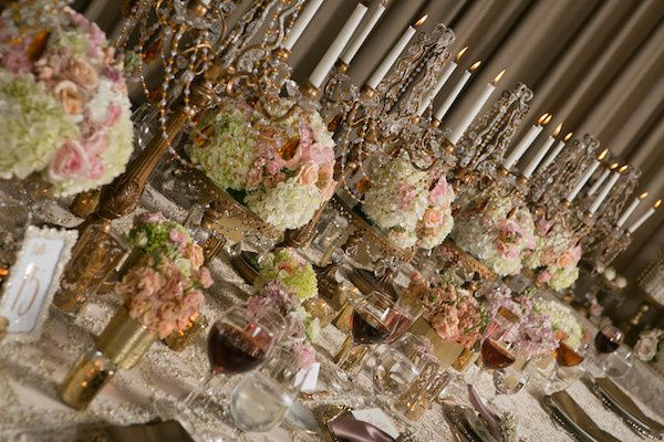 Tmx 1455834634089 Noor Sofia Ballroom Candle Lit Centerpiece Pasadena, CA wedding venue