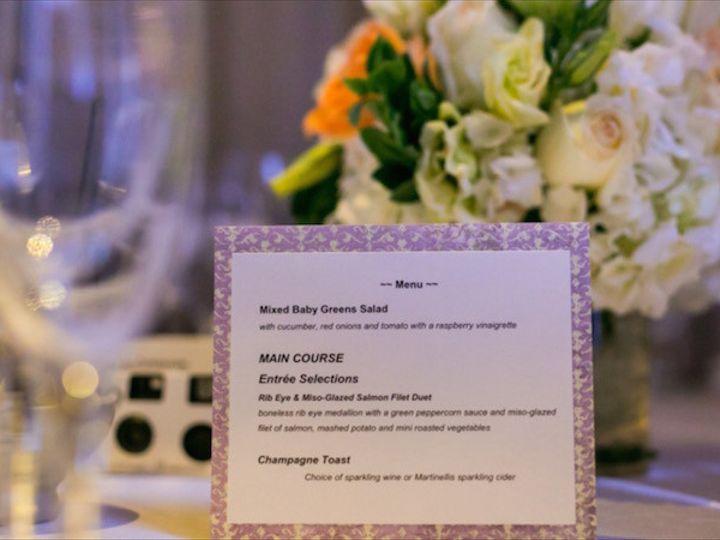 Tmx 1455834745543 Noor Sofia Ballroom. Menu Cardjpg Pasadena, CA wedding venue