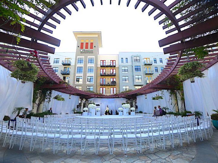 Tmx 1498681849920 4. Noor Terrace Wedding Ceremony With Stage Over F Pasadena, CA wedding venue