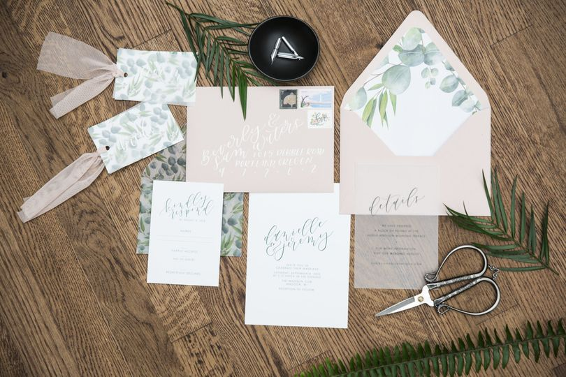 Wedding invitation and cards