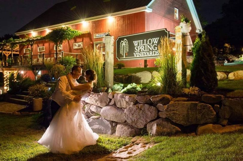 willow spring vineyards venue haverhill ma weddingwire