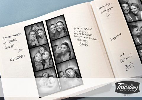 The Traveling Photo Booth Guest Book