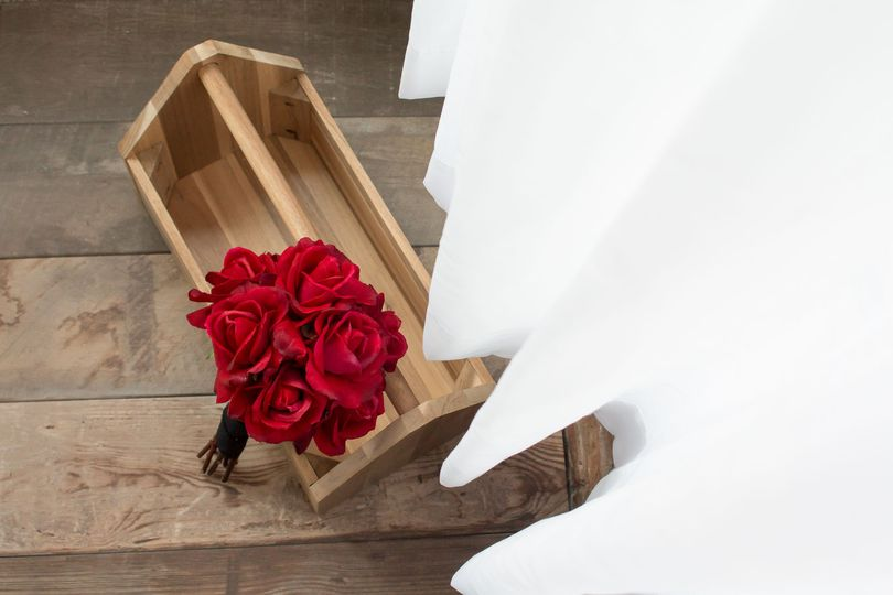 Real touch roses