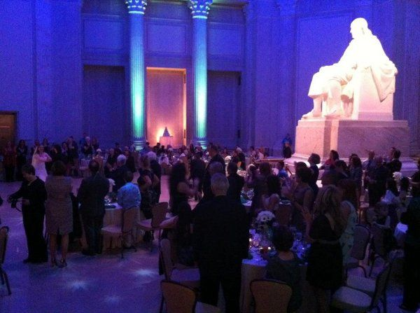 Franklin Hall at the Franklin Institute...the Reception Site