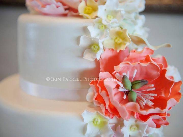 Tmx 1375118315290 Emily Closeup Lewes, DE wedding cake