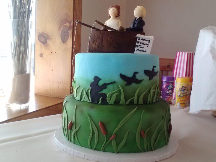 Tmx 1389272844395 Fishin Lewes, DE wedding cake