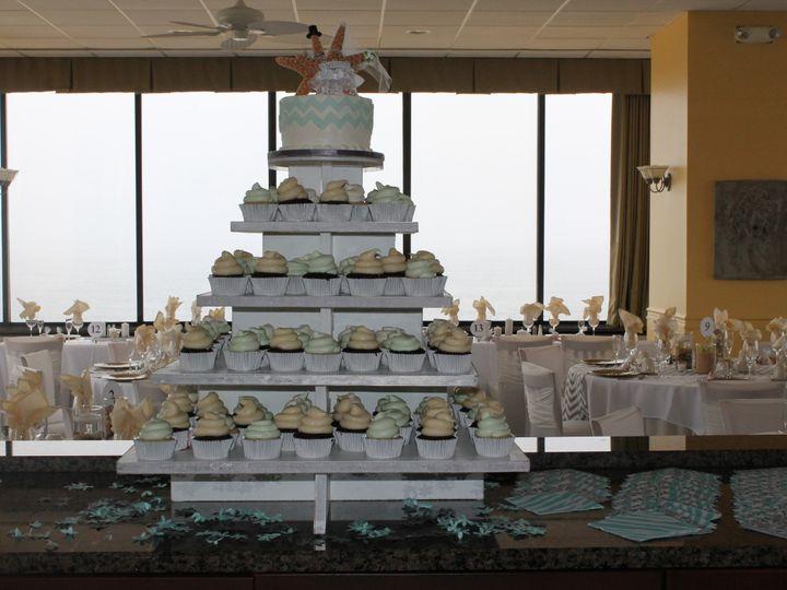 Tmx 1403197430249 Chevron Lewes, DE wedding cake