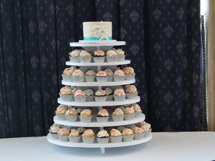 Tmx 1403197547011 Cupcake Star 2 Lewes, DE wedding cake