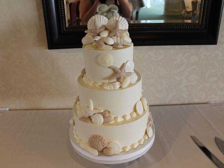 Tmx 1453051377293 Seashell Toppper Lewes, DE wedding cake