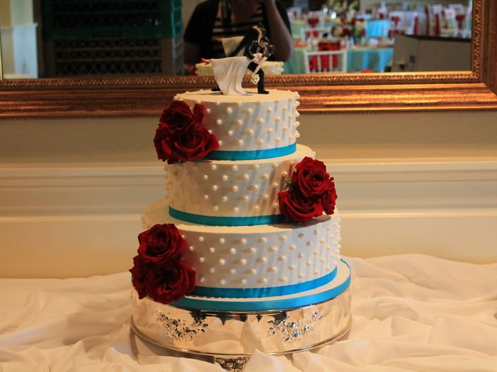 Tmx 1453052467731 Bay Red 2 Lewes, DE wedding cake